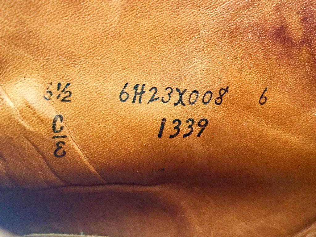 ALDEN 1339 オールデン コードバン チャッカブーツを買取