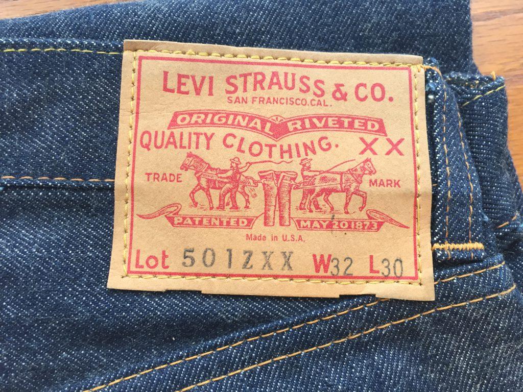 Vintage Levi's ビンテージ リーバイス 501ZXX デッドストック
