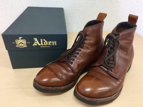 ALDEN オールデン 86910 H アルパインカーフ キャップトゥブーツ