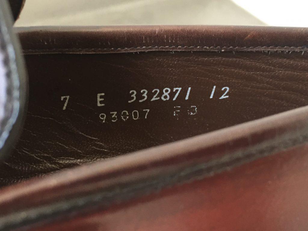 1980年代 FLORSHEIM YUMA フローシャイム コードバン ユーマ コブラヴァンプ