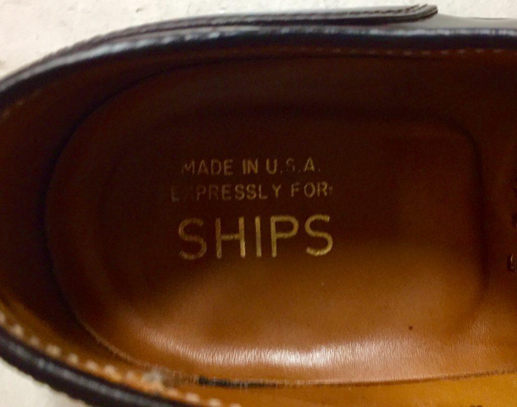 オールデン SHIPS別注 コードバン Uチップを買取