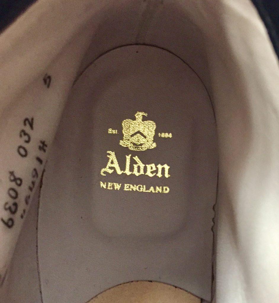ALDEN 45491H オールデン クロムエクセルレザー タンカーブーツの買取
