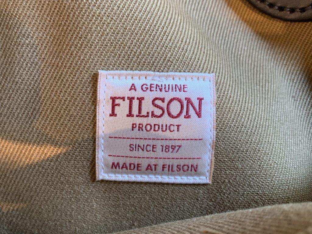 FILSON フィルソン キャンバス トートバッグ