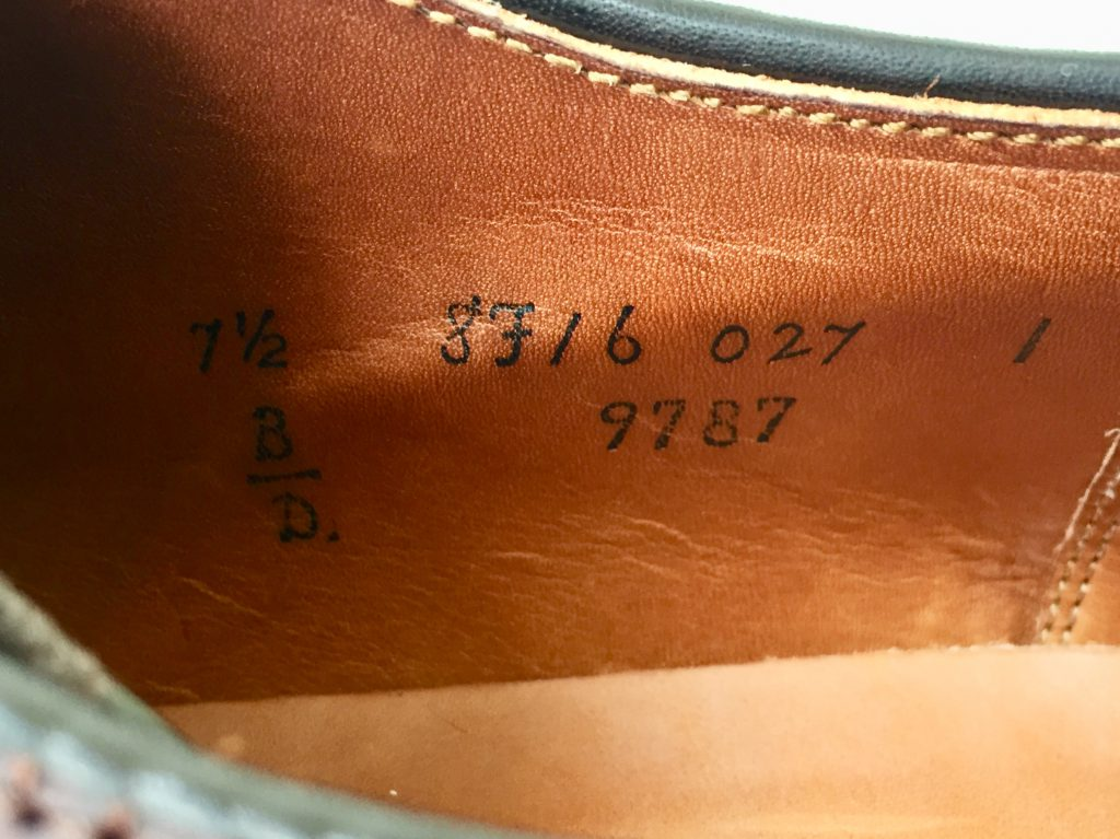 ALDEN LONG WING-TIP 9787 オールデン クロムエクセルレザー ロングウィングチップを買取