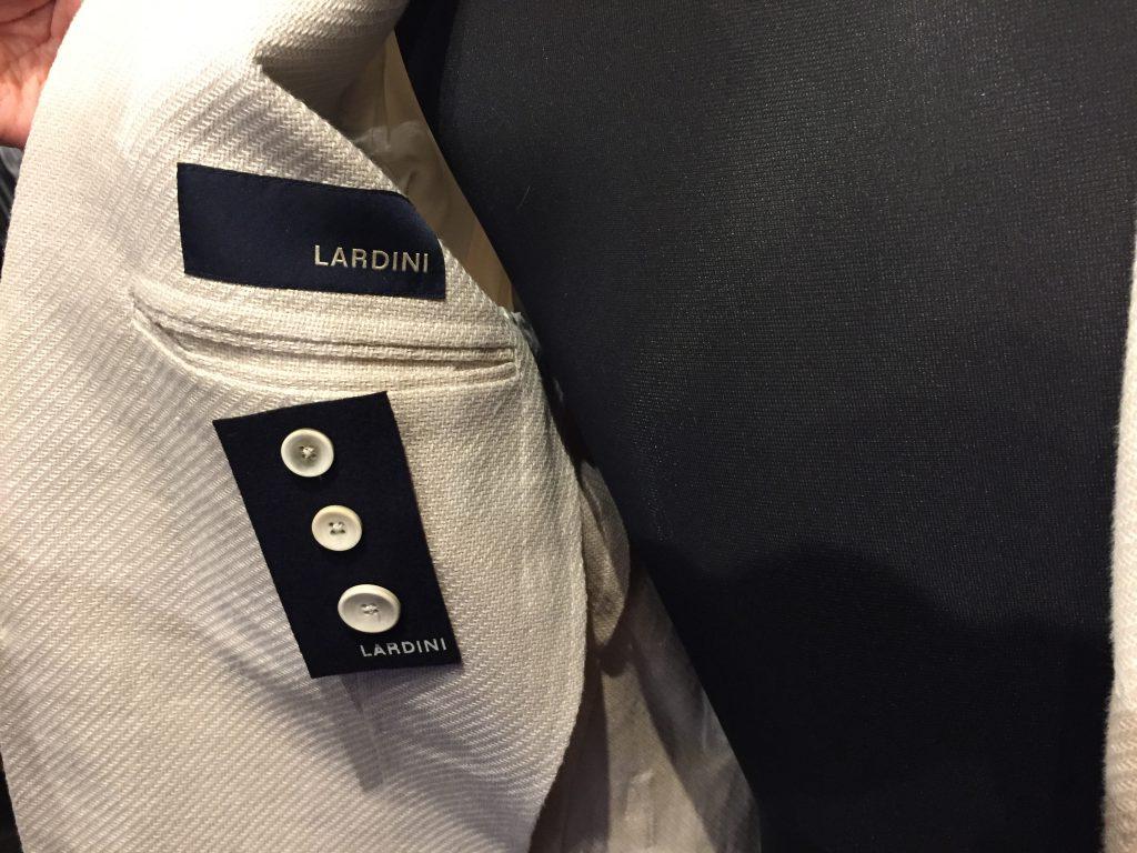 LARDINI ラルディーニ リネン×コットン サマーツイード