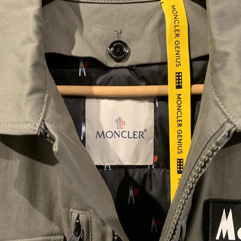 モンクレール ジーニアス7 フラグメント 19AW ミリタリー ダウンジャケット DAVIS