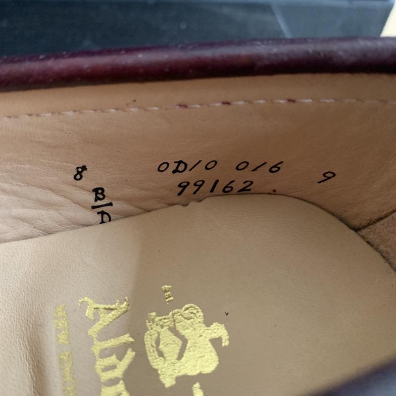 オールデン 99162 コードバン コインローファー ペニーローファー