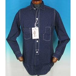 フリーホイーラーズ ポルカドットウォバッシュシャツの買取