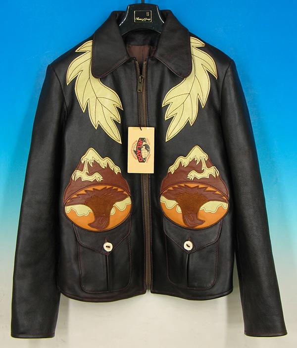 ジェラード イーストウエスト セブンアローズ レザージャケット 40の買取