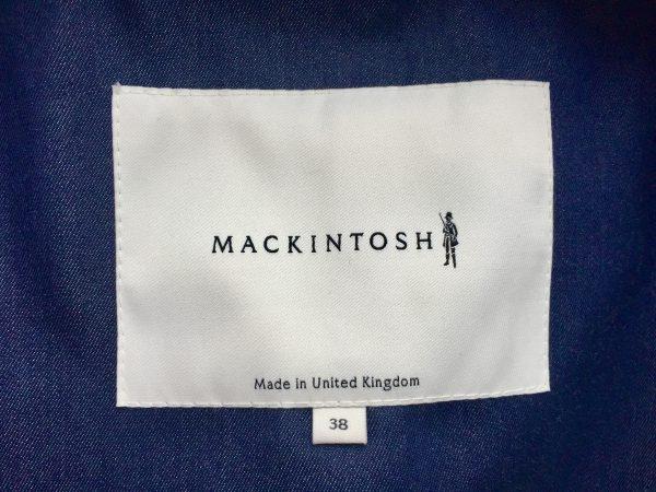 MACKINTOSH マッキントッシュ ダブルブレスト バルカラーコート インディゴを買取しました。