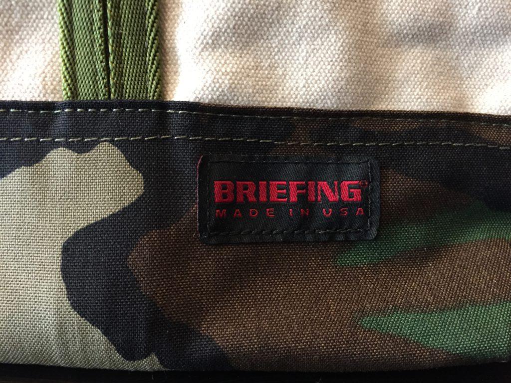 BREAFING ブリーフィング キャンバス トートバッグ