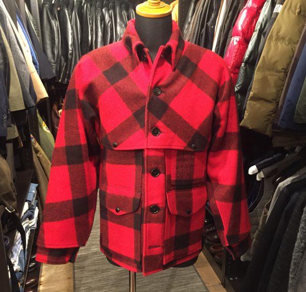 FILSON フィルソン ダブルマッキーノ クルーザージャケットの買取のご紹介です。