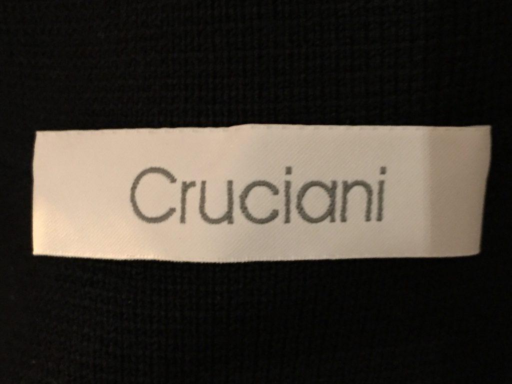 Cruciani クルチアーニ ミラノリブ ダブルブレスト ニットジャケット