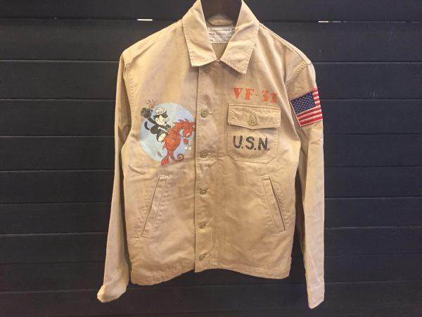 TOYS McCOY トイズマッコイ TMJ1106 フィリックス U.S.N. ユーティリティジャケットを買取しました!