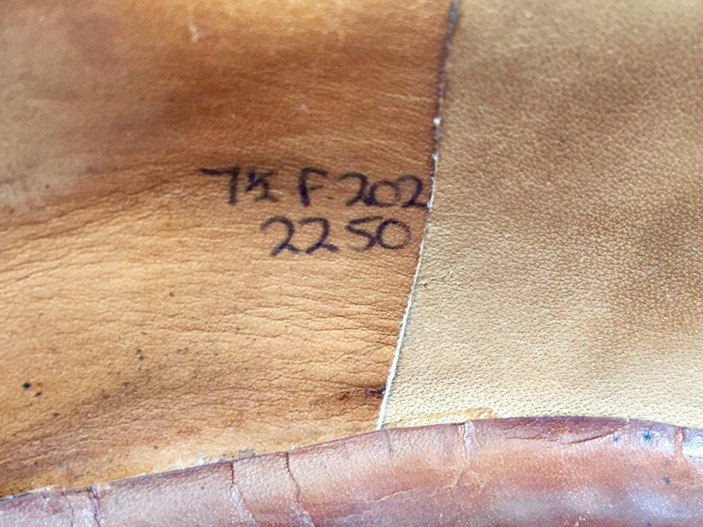 EDWARD GREEN CAP-TOE 旧エドワードグリーン キャップトゥ メダリオン