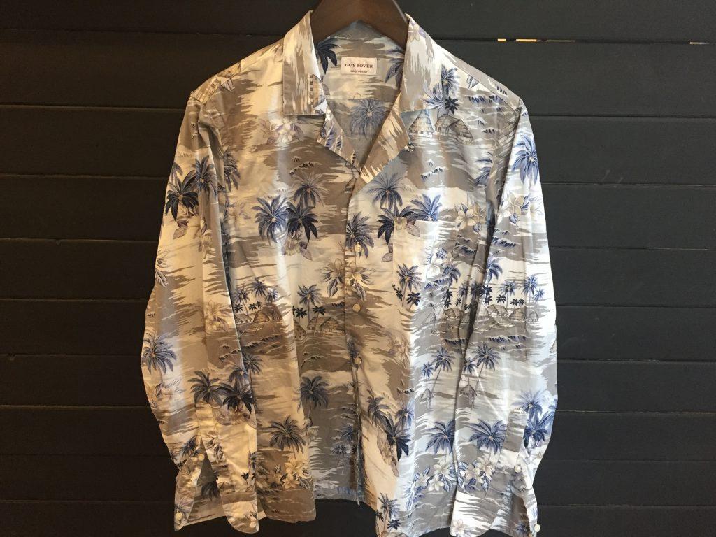 ギローバー オープンカラーシャツ