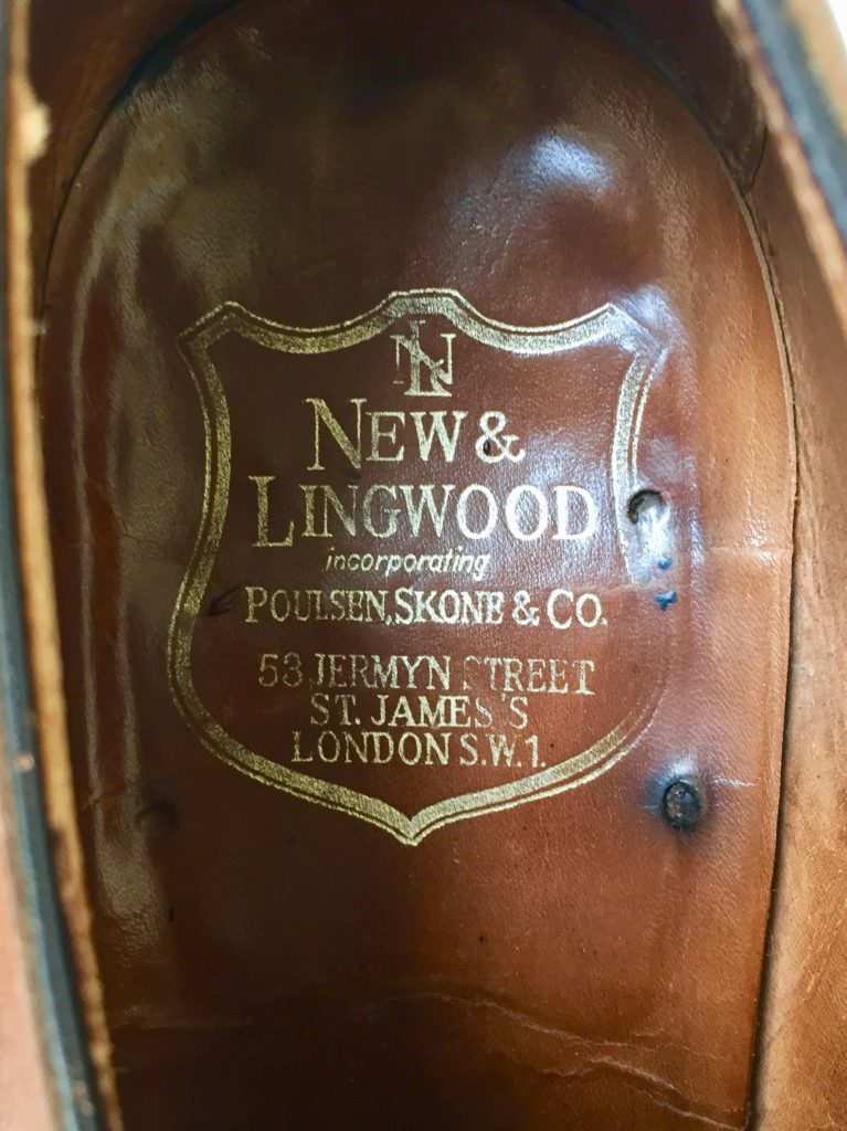 NEW&LINGWOOD POULSEN SKONE U-TIP ニュー&リングウッド ポールセンスコーン Uチップ 旧エドワードグリーン製 ドーヴァー