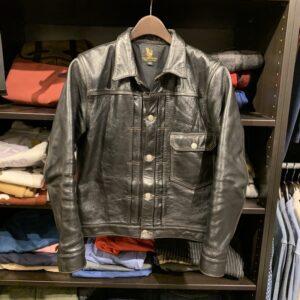 FINE CREEK LEATHERS(ファインクリークレザーズ)のレザージャケット、リッチモンドを買取りしました。