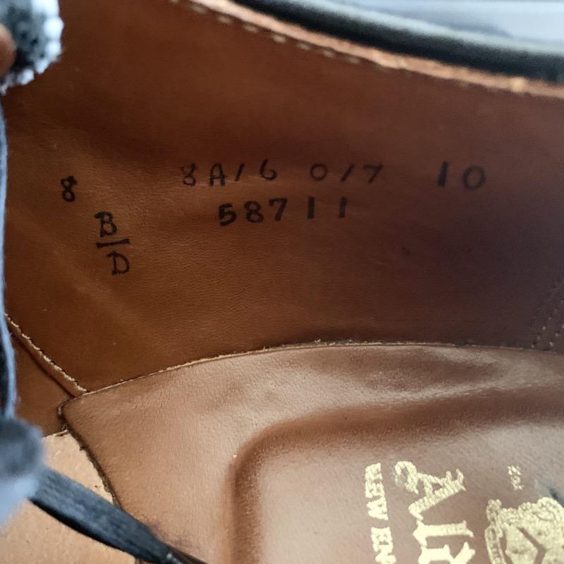 オールデン 58711 アルパインカーフ ロングウィングチップ