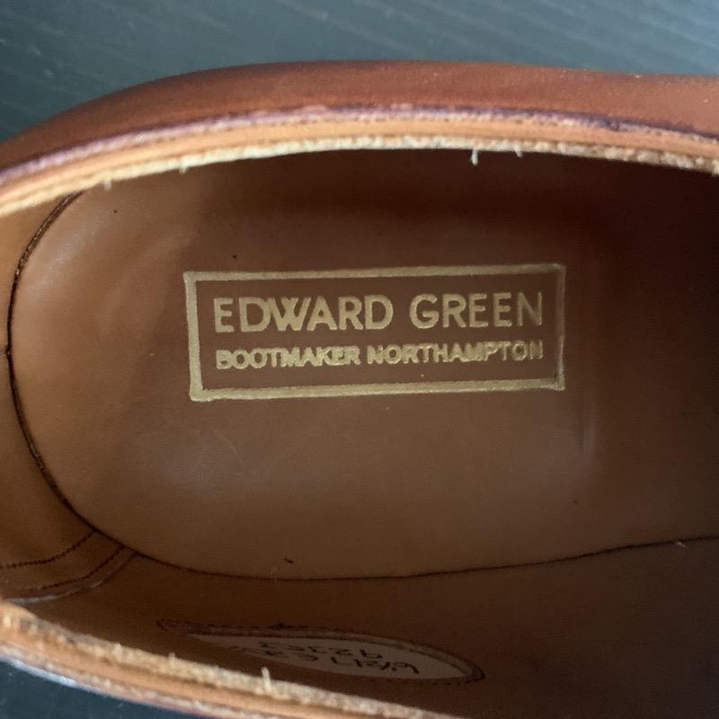 エドワードグリーン ストレートチップ チェルシー