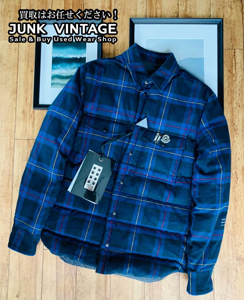MONCLER(モンクレール)の買取 ジーニアス7 フラグメント ダウンチェックネルシャツ ピンズつき