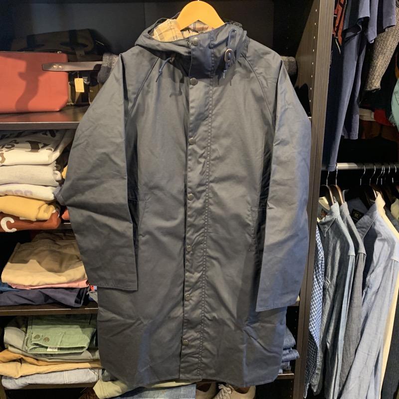 BARBOUR(バブアー)のホワイトレーベルのフーデッド ハンティング コートを買い取りしました!