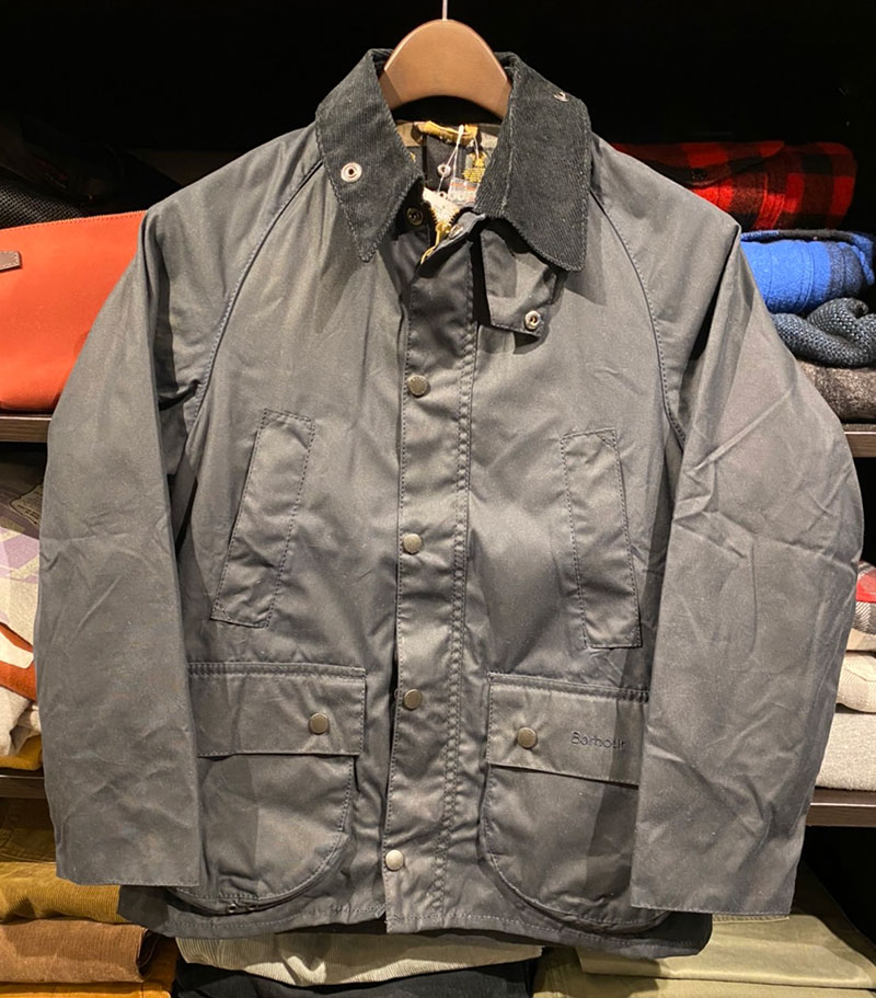 BARBOUR クラシックビデイル ボーイズ